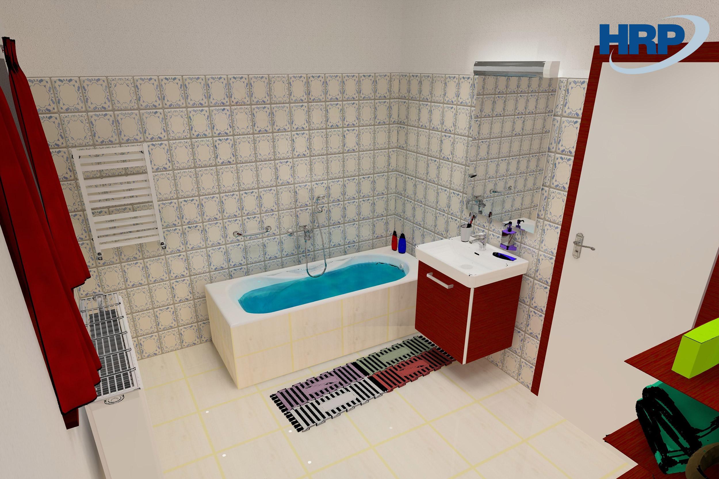 Fürdőszobai világítástervezés