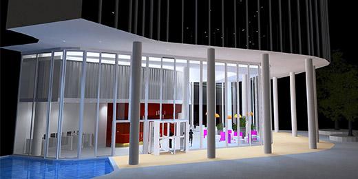 3D világítási látványtervezés